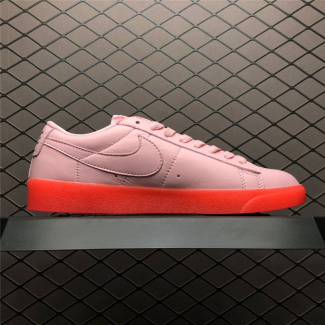 Womens Nike Blazer Low LX Pink Red AV9371-612