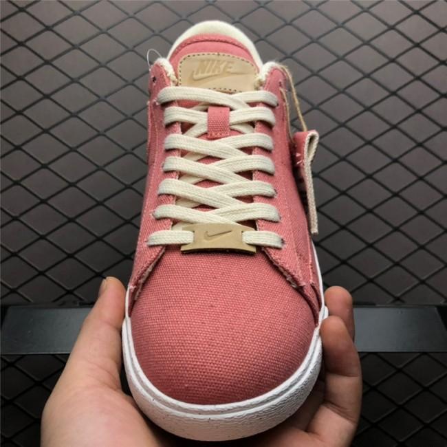Womens Nike Blazer Low Plant Color Pack Red AV9371-600