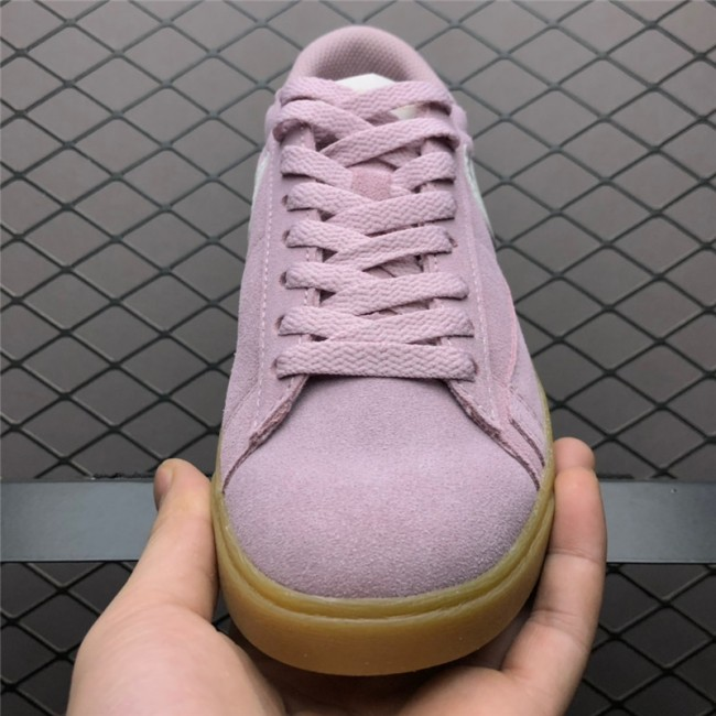 Womens Nike Blazer Low Suede Plum Chalk Shoes AV9373-500