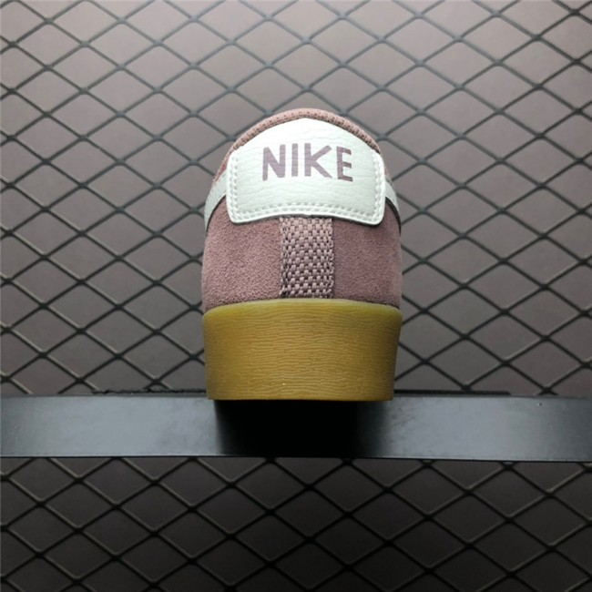 Womens Nike Blazer Low Suede Smokey Mauve Running Shoes