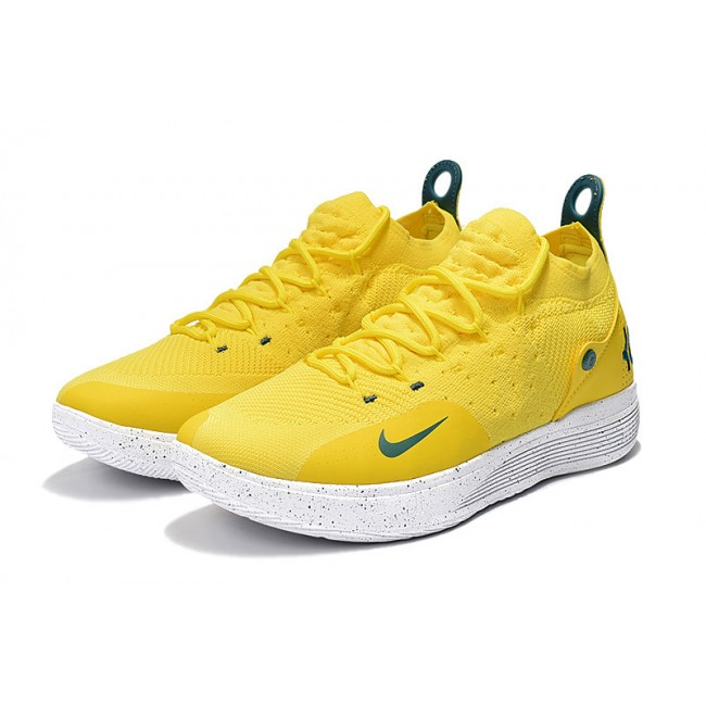 Mens Nike KD 11 Storm Yellow PE