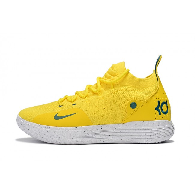 Mens Nike KD 11 Storm Yellow PE