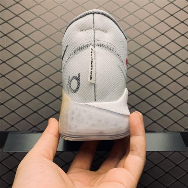 Mens Nike KD 12 Cool Grey White-Black On Sale AR4230-101