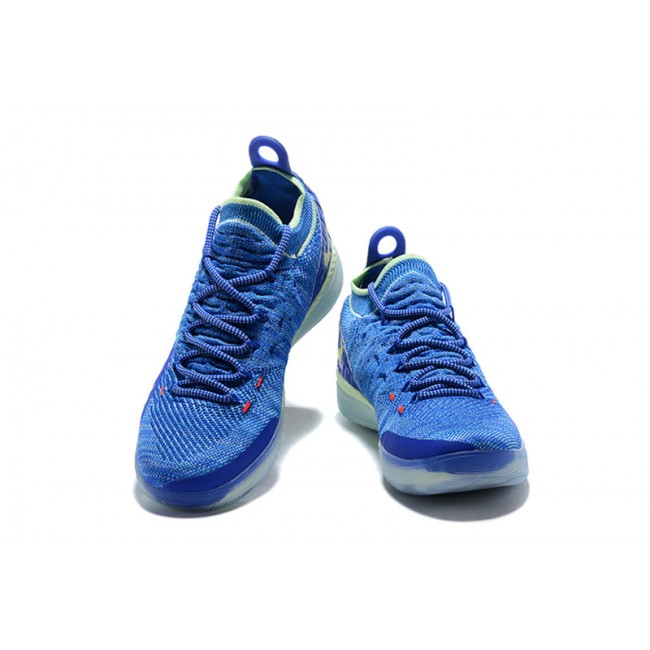 Mens Nike KD 11 Paranoid Blue Yellow