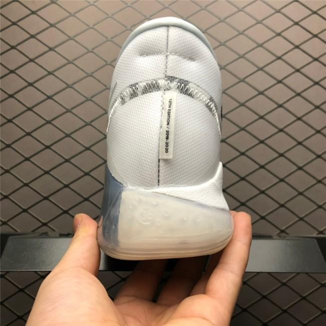 Mens Nike KD 12 Multi-Color White Grey AR4230-106