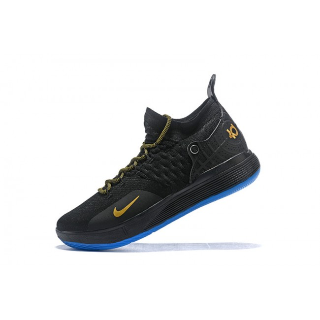 Mens New Release Nike KD 11 Black Metallic Gold
