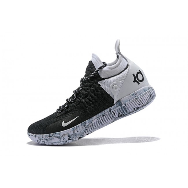 Mens Nike KD 11 BHM Black White Mens
