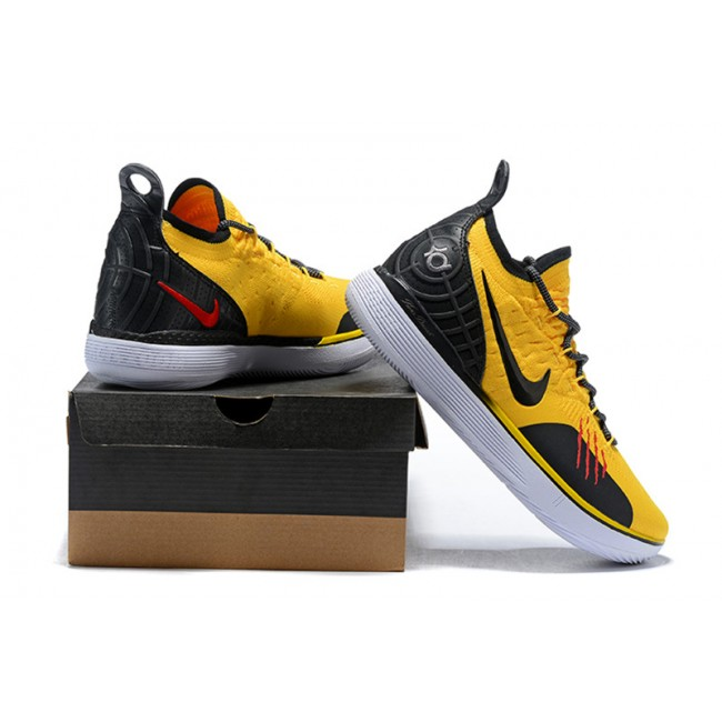 Mens Nike KD 11 Bruce Lee Tour Yellow Black