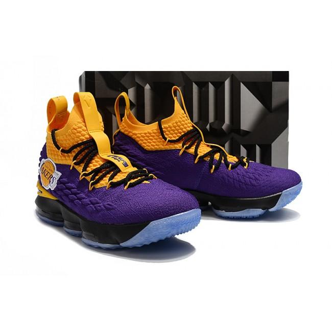 Mens Nike LeBron James 15 High Lakers Basketball