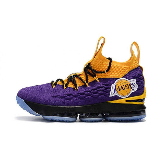 Mens Nike LeBron James 15 High Lakers Basketball
