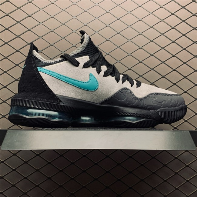 Mens atmos x Nike LeBron 16 Low Clear Jade New Release