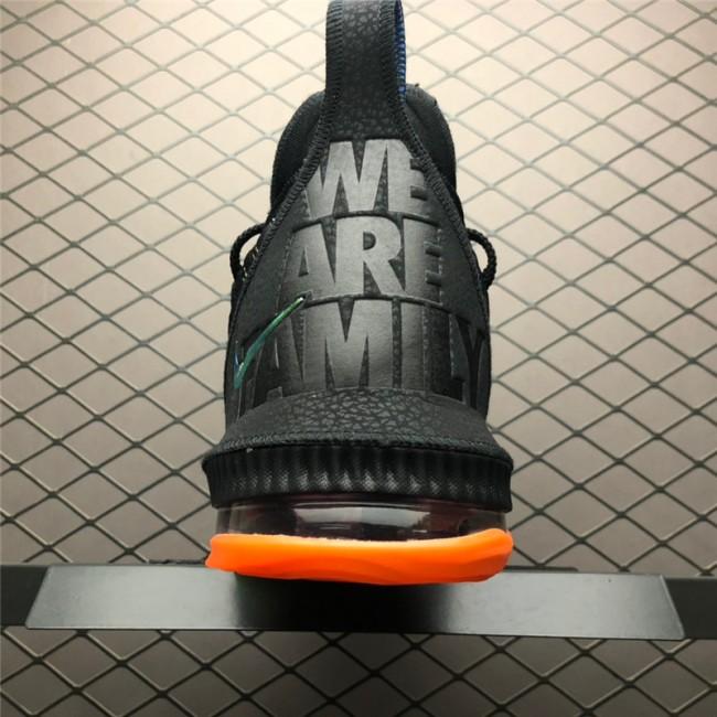 Mens Nike LeBron 16 I Promise Black Multi-Color
