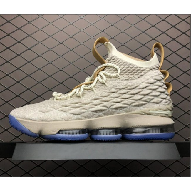 Mens Nike LeBron 15 Ghost String Vachetta Tan-Sail Online Sale