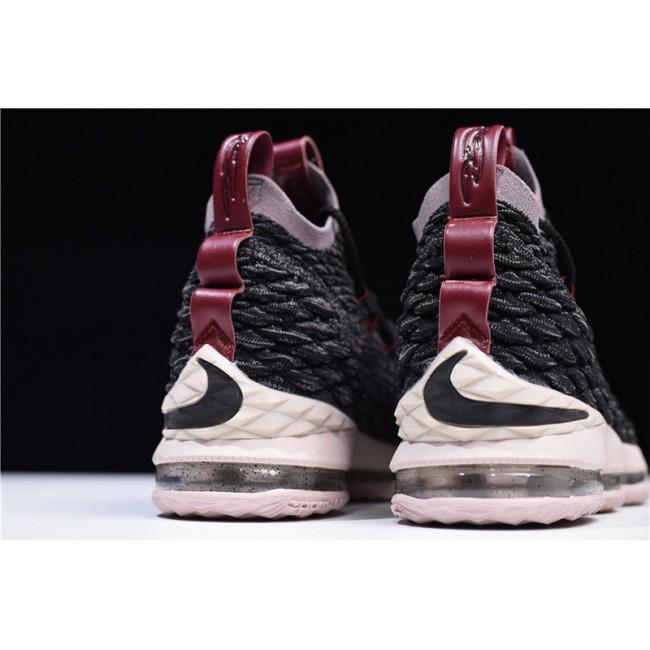 Mens Nike LeBron 15 Pride of Ohio Black Taupe Grey