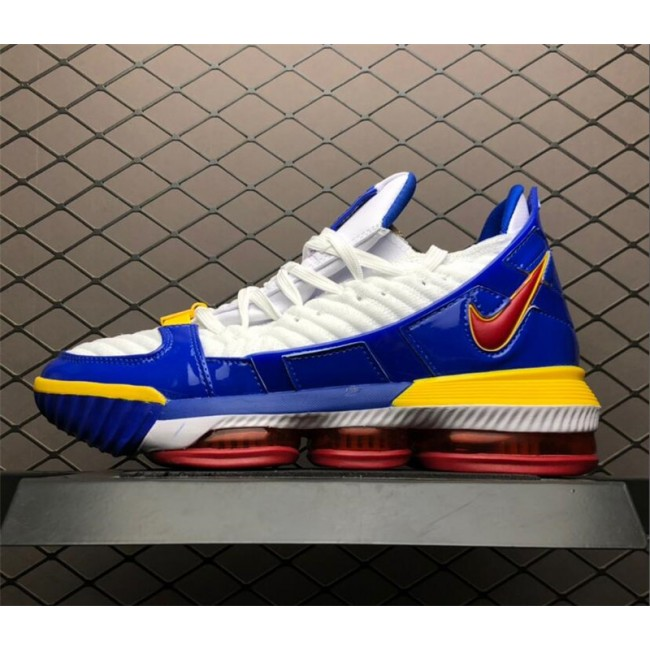 Mens Shop Nike LeBron 16 SB SuperBron Superman White Red