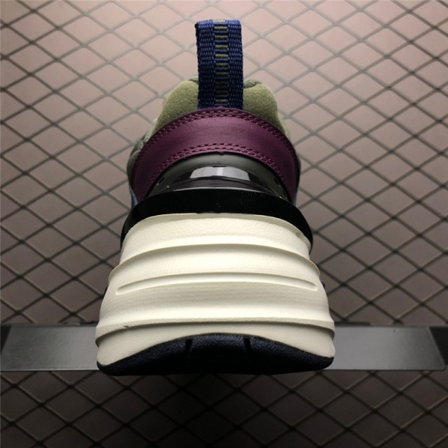 Mens Nike M2K Tekno Midnight Navy Bordeaux