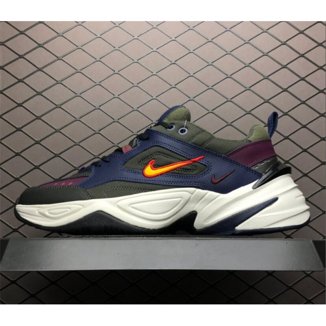 Mens Nike M2K Tekno Midnight Navy Bordeaux