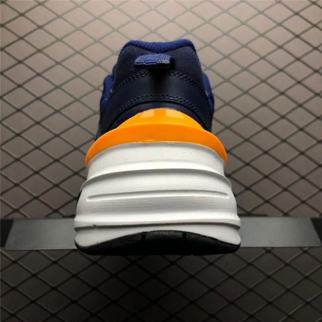 Mens Nike M2K Tekno Midnight Navy Laser Orange