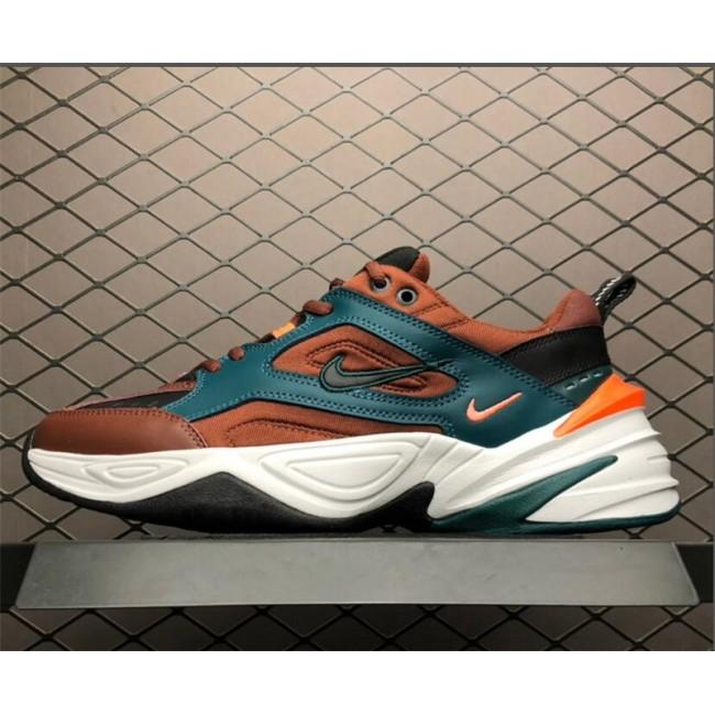 Mens Nike M2K Tekno Pueblo Brown Sneaker
