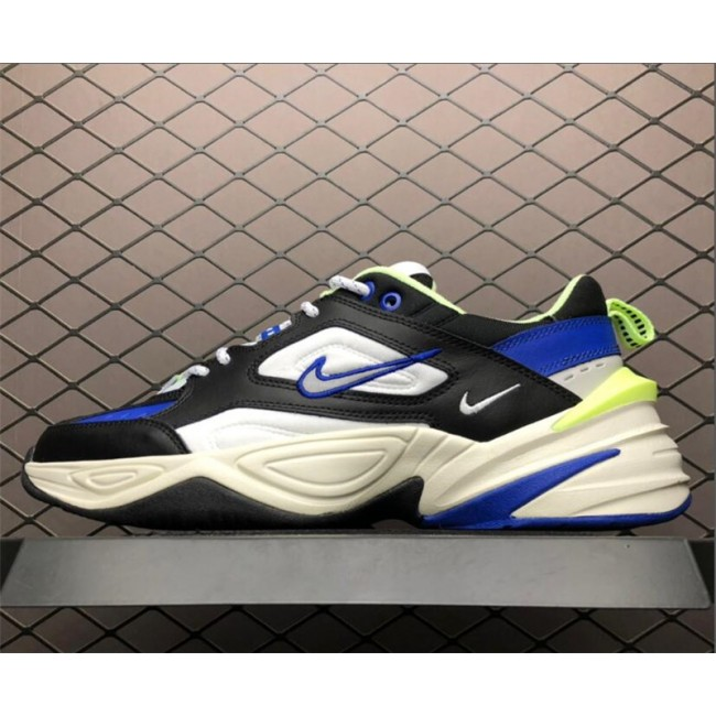 Mens Nike M2K Tekno Royal Black-Royal Blue-Volt