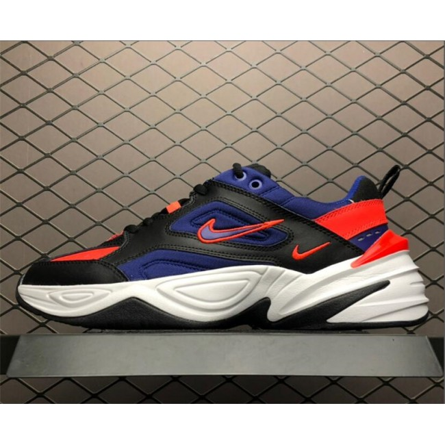 Mens/Womens Nike M2K Tekno Navy Blue White-Red AV4789-006