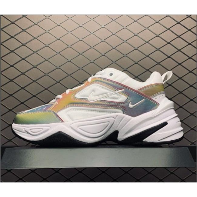 Womens Nike M2K Tekno Laser White-Colorful BV0074-018