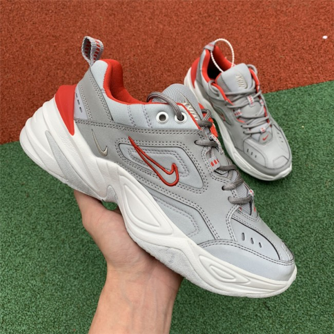 Womens Nike M2K Tekno Metallic Silver Marbled