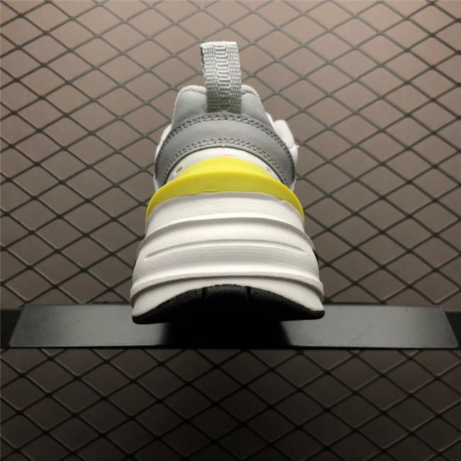 Mens/Womens Nike M2K Tekno Platinum Tint Celery Dad Shoes