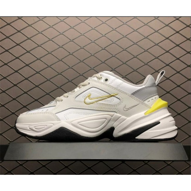Mens/Womens Nike M2K Tekno Platinum Tint Celery Dad Shoes