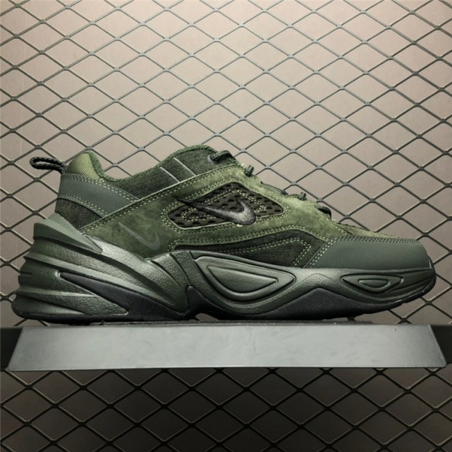 Mens Nike M2K Tekno Sequoia Black-Cargo Khaki Size