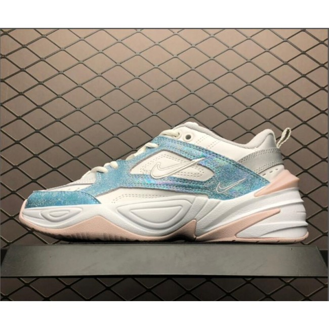 Womens Nike M2K Tekno White Blue