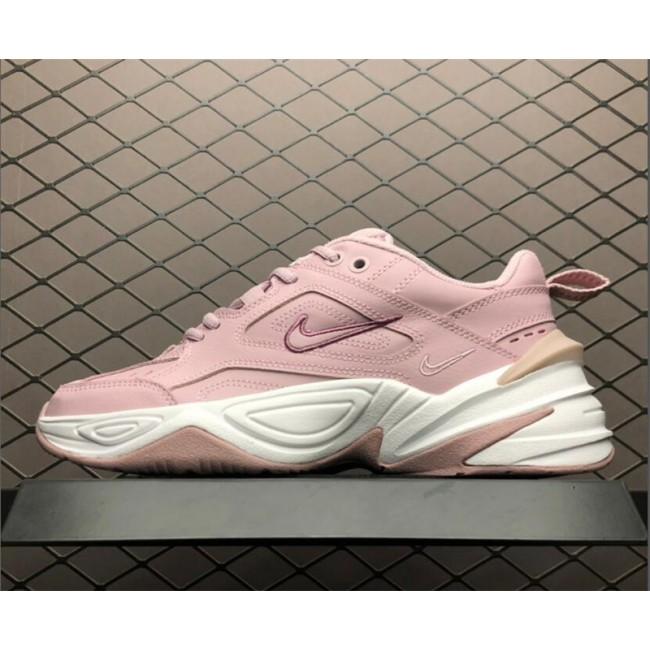 Womens Nike M2K Tekno Plum Chalk Pink White