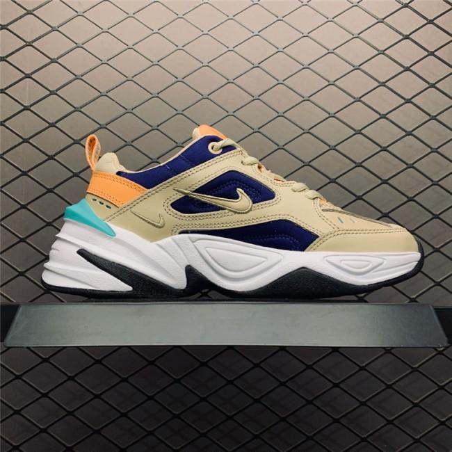 Womens Nike M2K Tekno Desert Ore Deep Royal Blue