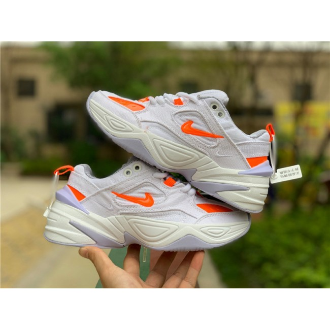 Womens Nike M2K Tekno LX Denim White Hyper Crimson