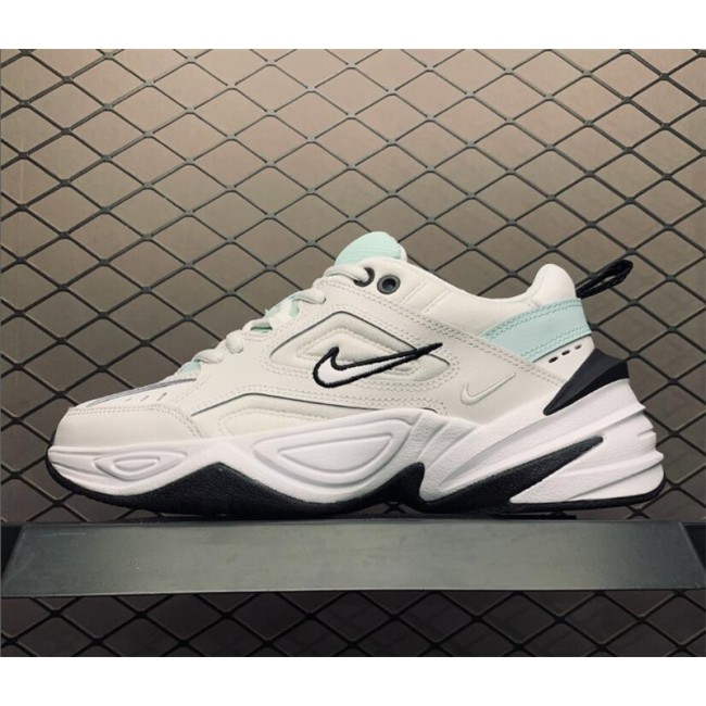 Womens Nike M2K Tekno White Blue AO3108-013