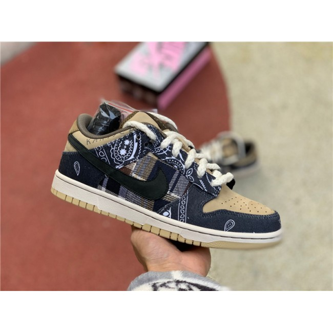 Mens/Womens Nike SB Dunk Low Travis Scott CT5053-001