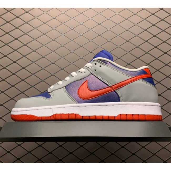 Mens/Womens Nike Dunk Low Samba Hyper Blue Samba-Silver On Sale