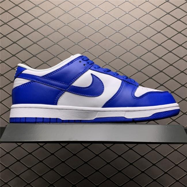 Mens/Womens Nike Dunk Low SP Kentucky White Varsity Royal