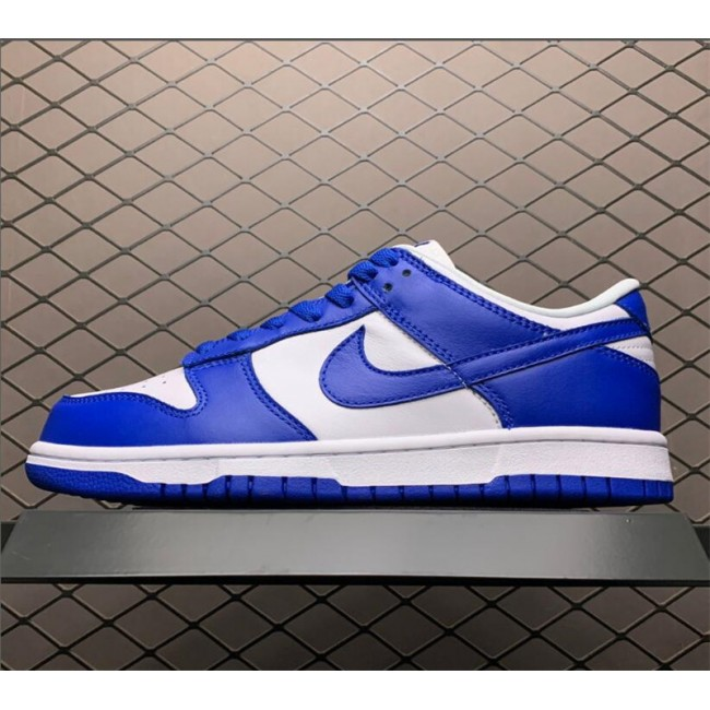 Mens/Womens Nike Dunk Low SP Kentucky White Varsity Royal