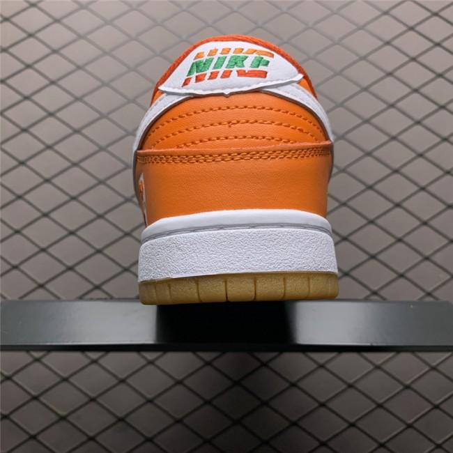 Mens/Womens 7-Eleven x Nike SB Dunk Low Red Orange Green White