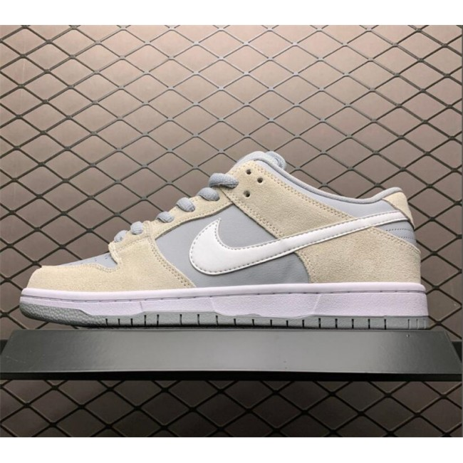 Mens/Womens Nike SB Dunks Low Summit White Wolf Grey