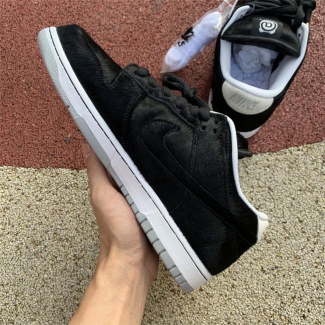 Mens/Womens Medicom Toy x Nike SB Dunk Low BE RBRICK Black White