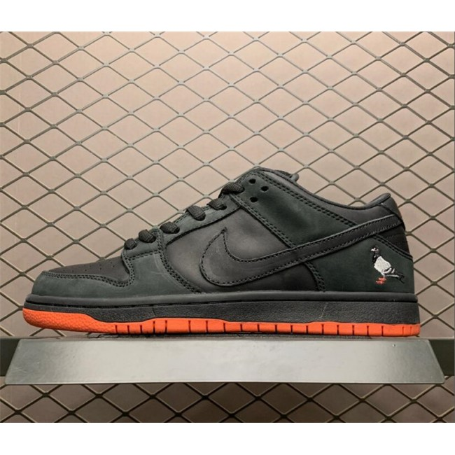 Mens/Womens Nike SB Dunk Low TRD QS Pigeon Black Sienna