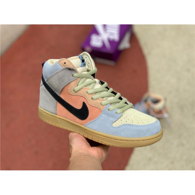 Mens/Womens Nike SB Dunk High Spectrum CN8345-001