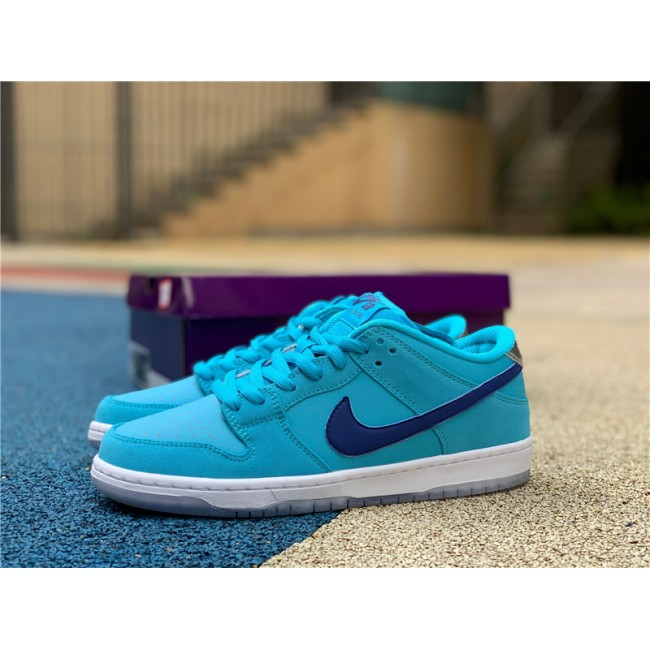 Mens/Womens Nike SB Dunk Low Blue Fury Shoes BQ6817-400