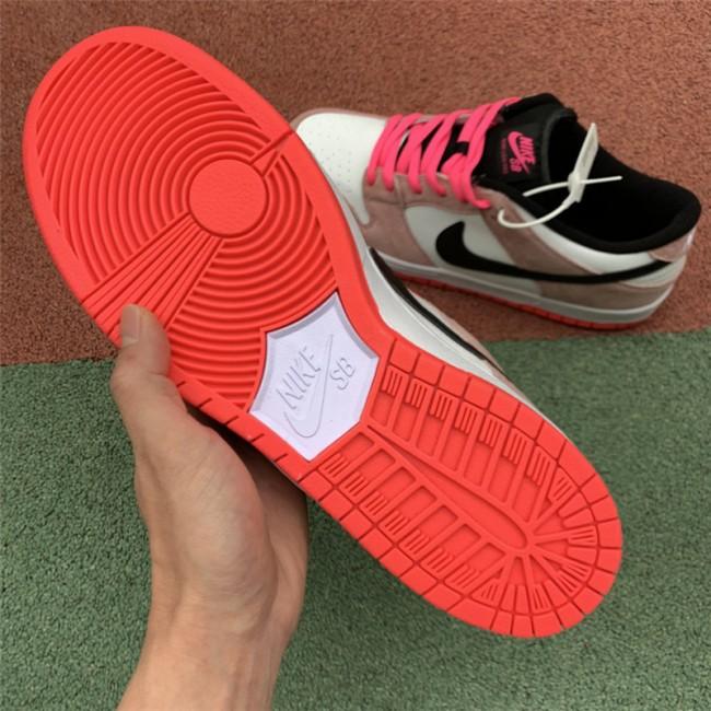 Mens/Womens Nike SB Dunk Low TRD QS White Sienna QB6232-901