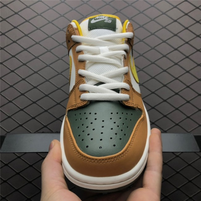 Mens Nike Dunk SB Low Vapour Mineral Yellow 304292-271