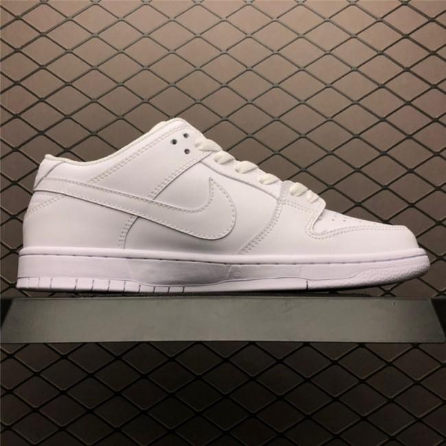 Mens Nike SB Zoom Dunk Low Pro Decon QS Pure White
