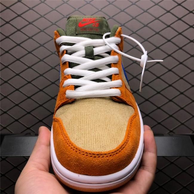 Mens New Release Nike Dunk Low Pro SB Corduroy Dusty Peach