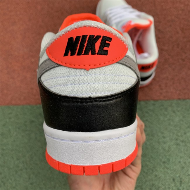 Mens/Womens New Nike SB Dunk Low Infared White Cement Grey